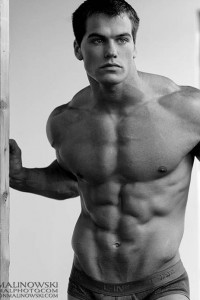 muscle male model Jed
