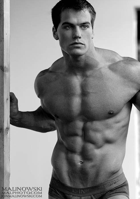muscle male model Jed