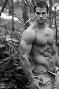 male model Jed Hill