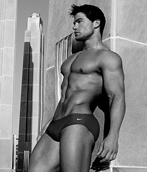 american bodybuilder and male model Jed Hill