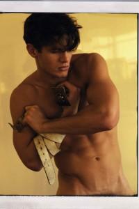 male model Kyle Ledeboer