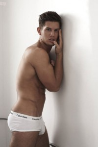 Kyle Ledeboer in briefs