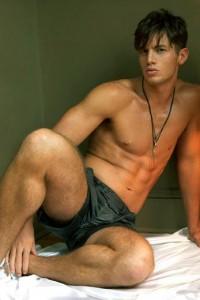 handsome Kyle Ledeboer