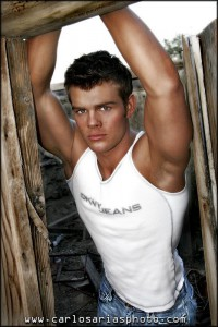Norwegian fitness male model