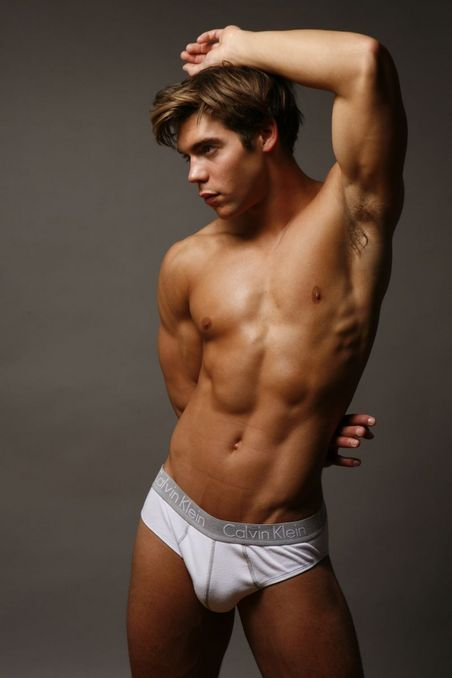 muscle male model Chris Campanioni