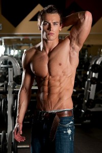 fitness model in gym