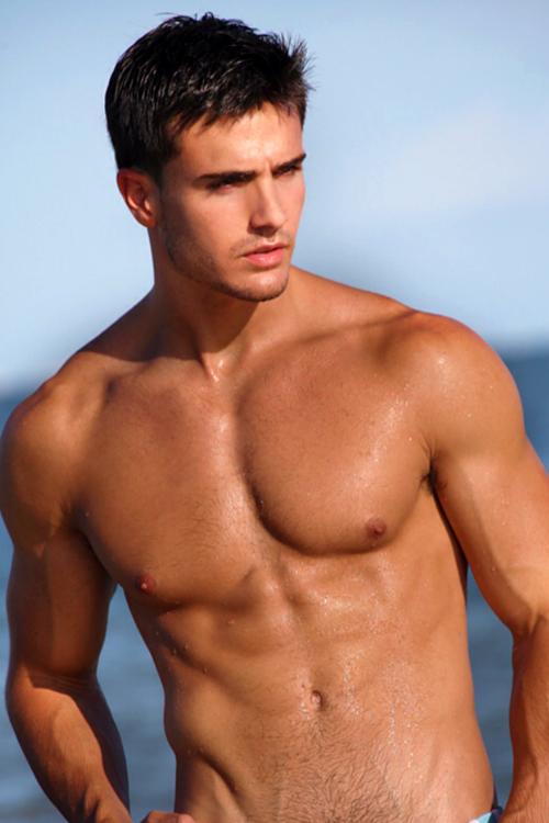 male fitness model beautiful photo