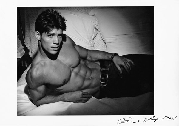 Brazilian male model Carlos Freiere by famous Karl Lagerfeld