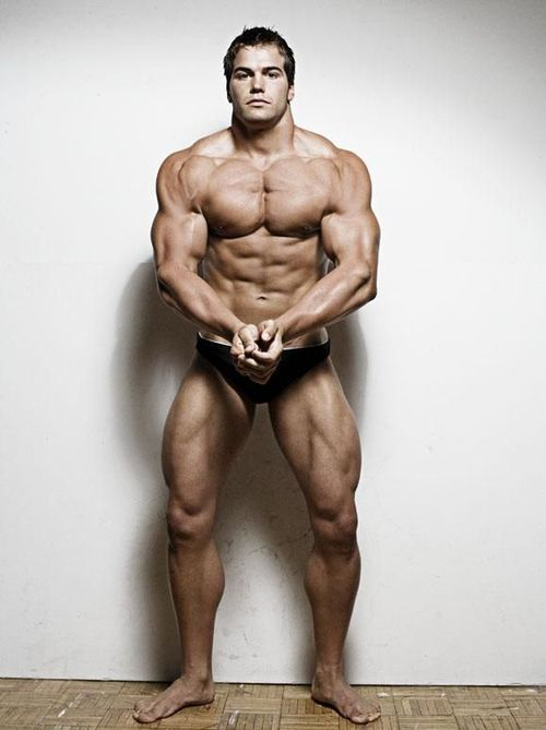 american male model Jed Hill