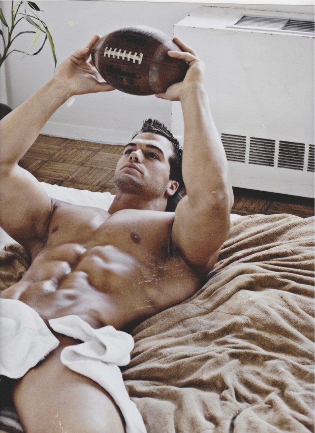 male model Jed Hill beautiful photo art