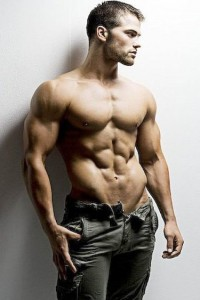 bodybuilder and model Jed