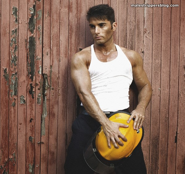 male stripper fireman