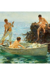 gay boys art canvas prints
