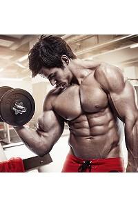 bodybuilder canvas print