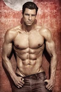 Male model Chris