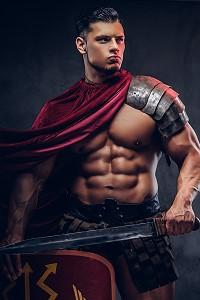 gladiator warrior gay art