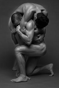two men gay art