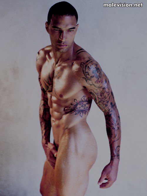 Kenneth Guidroz nude model