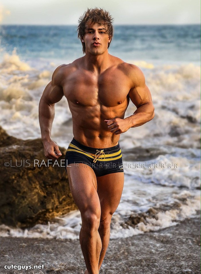 Jeff Seid running