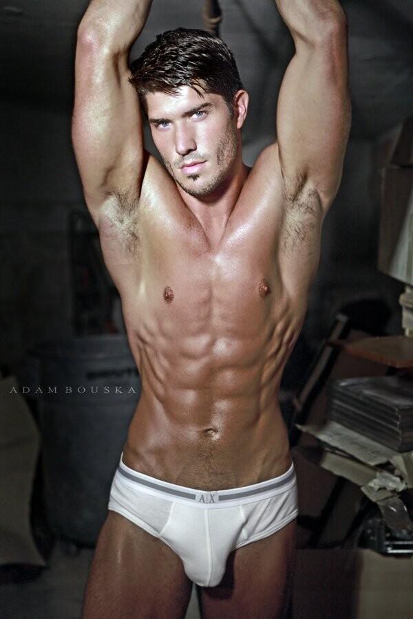 Ryan Barry male model armpits by Adam Bouska