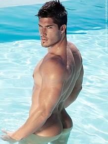 Ryan Barry - hunky model