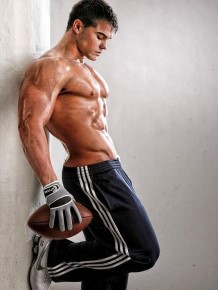Fitness male model Jed Hill