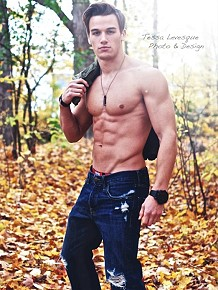 Canadian fitness model Marc Fitt